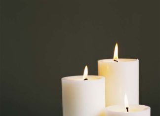 Simpatia com vela branca para amarrar um homem