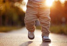 Simpatia para bebê andar