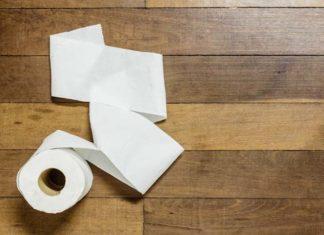 Simpatia do papel higiênico